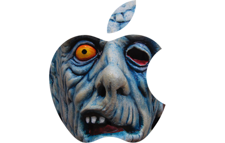 ugly apple logo